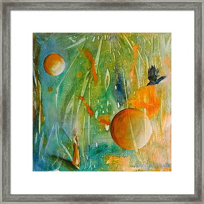 Rare And Radiant Maiden Framed Print by Sandy Applegate
