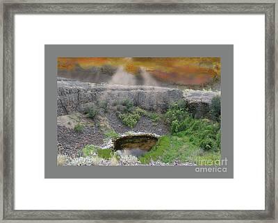 Rare Light  Framed Print