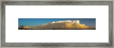 Rare Tornadic Supercells In Nebraska 005 Framed Print