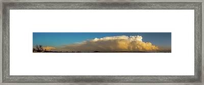 Rare Tornadic Supercells In Nebraska 005 Framed Print