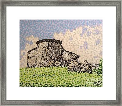 Raseborg Castle Framed Print by Alan Hogan
