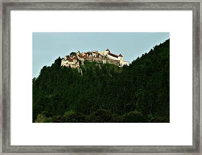 Rasnov Citadel Framed Print