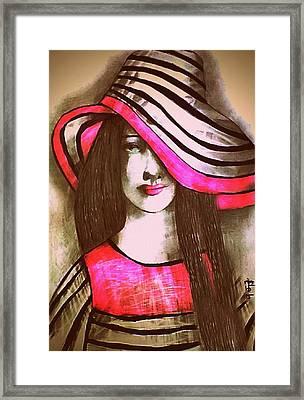 Raspberry Daiquiri Framed Print by Ira Tihonova