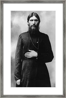 Rasputin The Mad Monk Framed Print