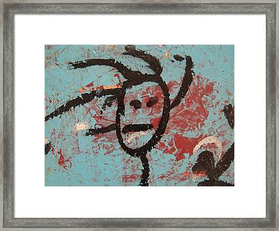 Rastaman Framed Print by Pat  Lackenbauer