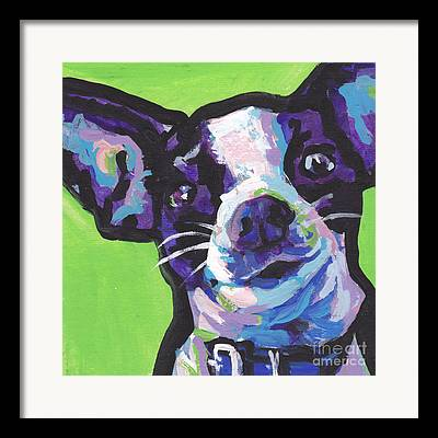 Chihuahua Colorful Art Framed Prints