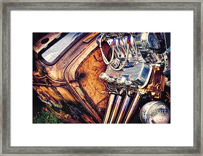 Rat Power Framed Print