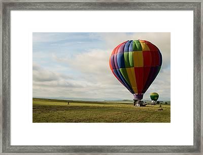 Raton Balloon Festival Framed Print