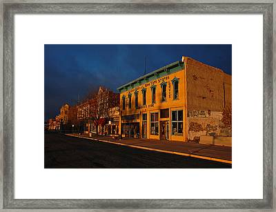Raton Historic District Framed Print by Ben Prepelka