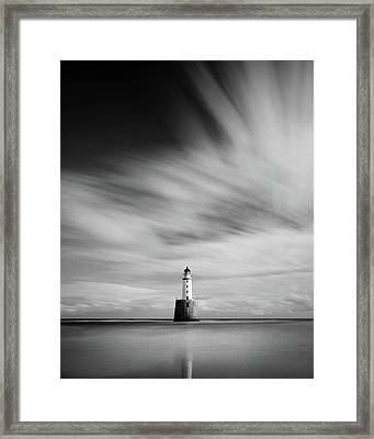 Rattray Head Lighthouse II Framed Print by Dave Bowman