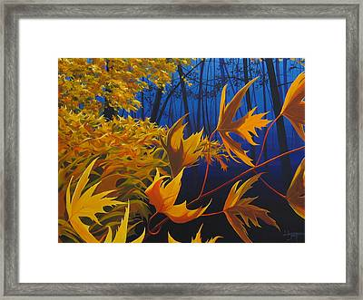 Raucous October Framed Print by Hunter Jay