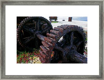 Ravaged By Time Framed Print by Mike Flynn