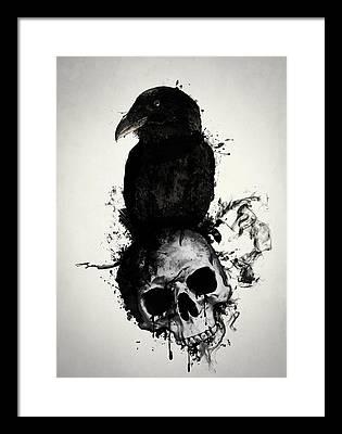 Skull Framed Prints
