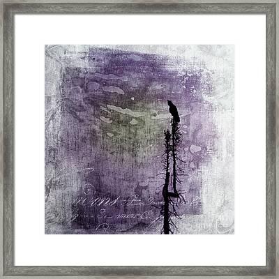 Raven Call 3 Framed Print