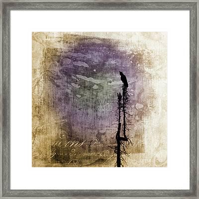 Raven Call 4 Framed Print