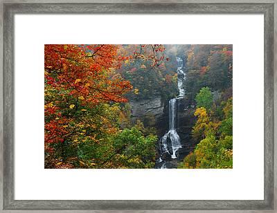 Raven Cliff Falls Framed Print