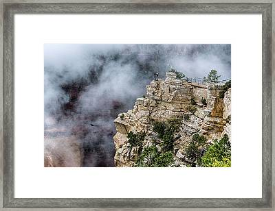 Raven Knows The Canyon Magic Framed Print
