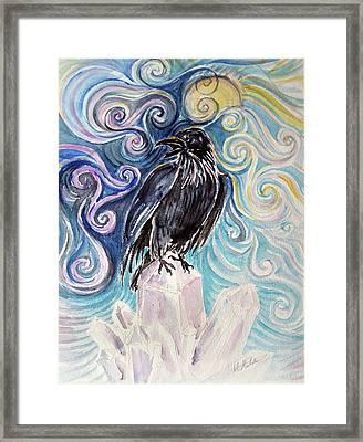 Raven Magic Framed Print