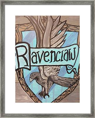Ravenclaw Framed Print