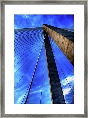 Ravenel Sky Framed Print