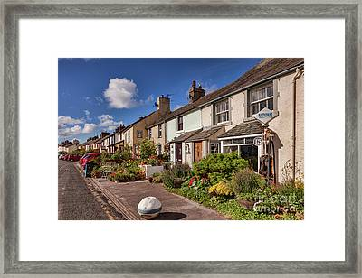 Ravenglass Cottages Framed Print by Colin and Linda McKie