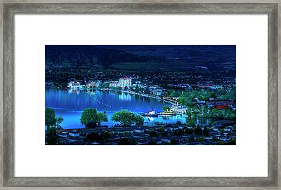 Framed Print featuring the photograph Raven's Eye View by John Poon