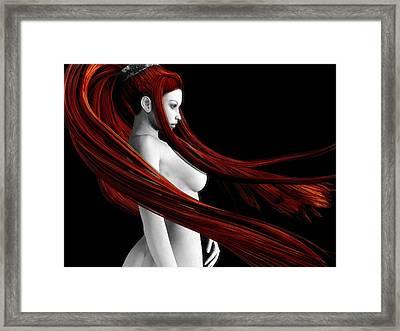 Ravishing Red Framed Print by Alexander Butler