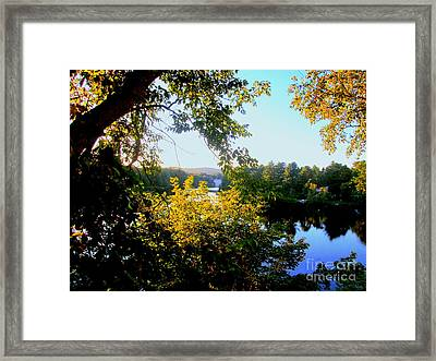 Framed Print featuring the photograph Rawdon by Elfriede Fulda