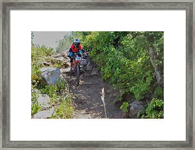 Rawhide Drop #109 Framed Print by Matt Helm