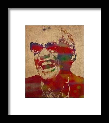 Ray Framed Prints