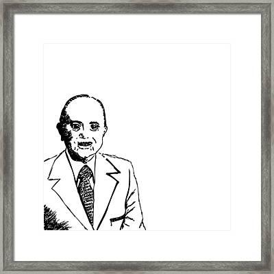 Ray Kroc Framed Print by Karl Addison