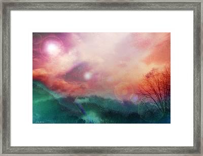Ray Of Hope Framed Print by Linda Sannuti