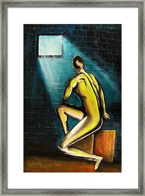 Ray Of Hope Framed Print