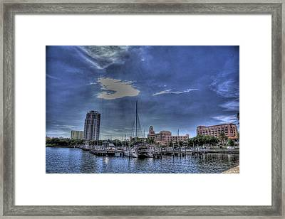Ray Port Framed Print by Larry Underwood