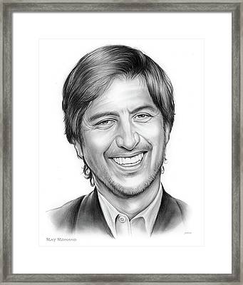 Ray Romano Framed Print by Greg Joens
