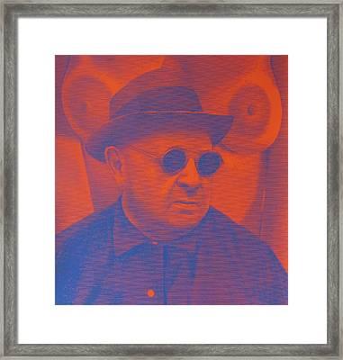 Raybanned Framed Print
