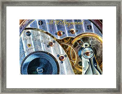 Raymond's Watch Framed Print by Darren White