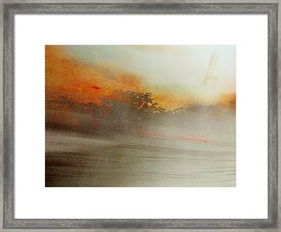 Rayon Abstract  Framed Print