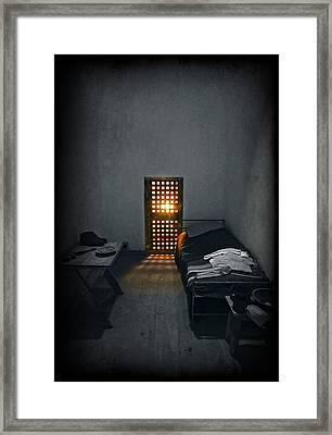 Rays Of Freedom Framed Print by Evelina Kremsdorf