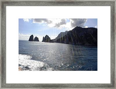 Rays Of Glory Framed Print by Piety Dsilva
