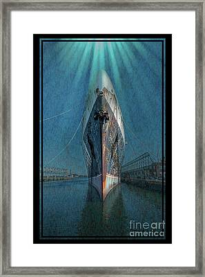 Rays Of Hope Framed Print by Marvin Spates