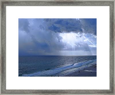 Rays Of Hope Framed Print by Theresa Campbell