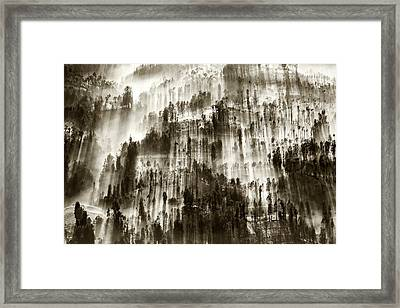 Framed Print featuring the photograph Rays Of Light by Pradeep Raja Prints