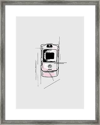 Razor Framed Print