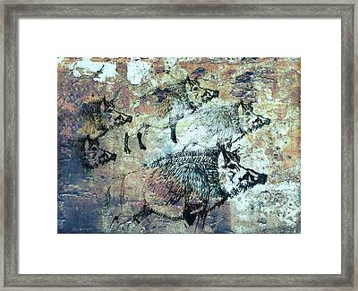 Wild Boars Framed Print by Larry Campbell