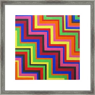 Razzmatazz Framed Print by Oliver Johnston