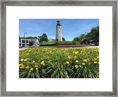 Rb Lighthouse Framed Print