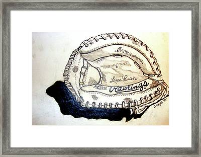 Rcm 50 Lance Parrish Framed Print