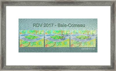 Rdv 2017 Baie-comeau Mug Shot Framed Print