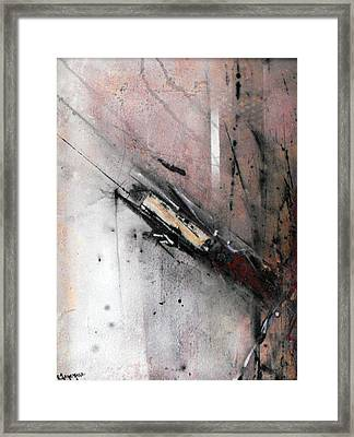 Re Entry Framed Print by Ralph Levesque